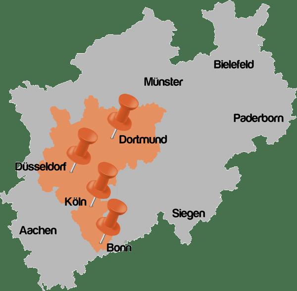 mr. Lox bietet Autoöffnung in der gesamten Rhein-Ruhr Metropolregion an.