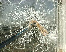 Sicherheitsfolie gegen Glasbruch.