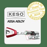 KESO Schließanlagen empfehlen wir für Kunden mit höchsten Ansprüchen. Die Schließanlage von KESO bietet Komfort & Sicherheit!