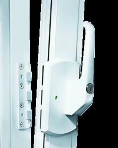 Ein abschliessbarer Fenstergriff mit Zusatzverriegelung ist eine sehr empfehlenswerte Fenstersicherung mit der man die öffnungsseite eines Fensters gegen das Aufhebeln absichern kann.